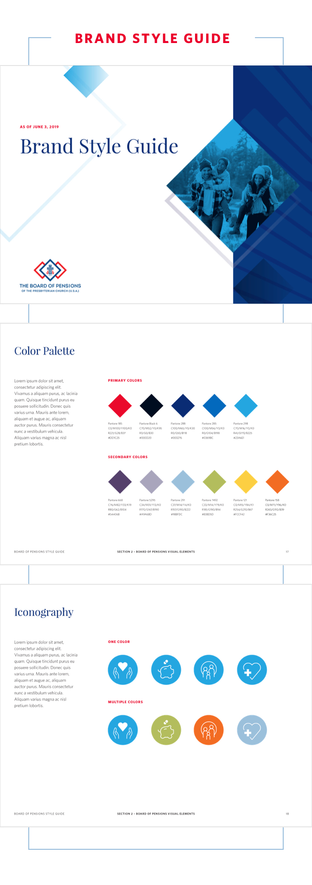 Style Guide for Board of Pensions