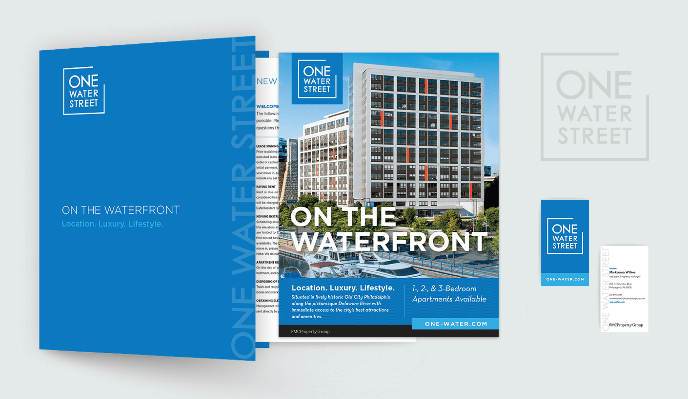 PMC waterfront print ad
