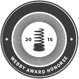 2016 Webby Award Honoree